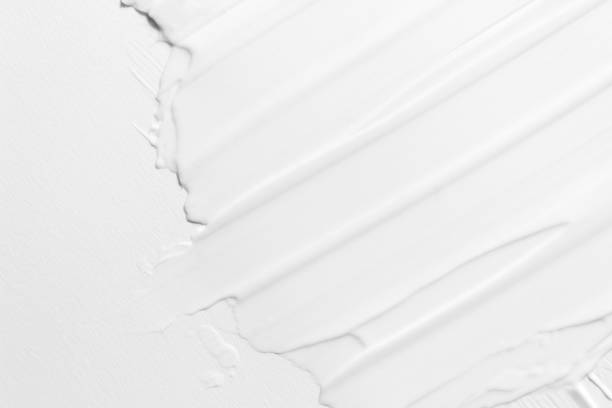 abstract texture of cream. lotion for face or body. natural moisturizer. skin care. - cream background stock pictures, royalty-free photos & images