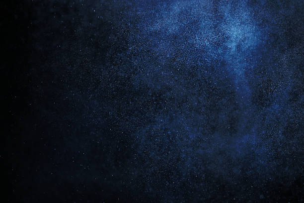 Espacio abstracto textura cielo estrellado cielo galaxy muela de fondo blanco puntos - foto de stock