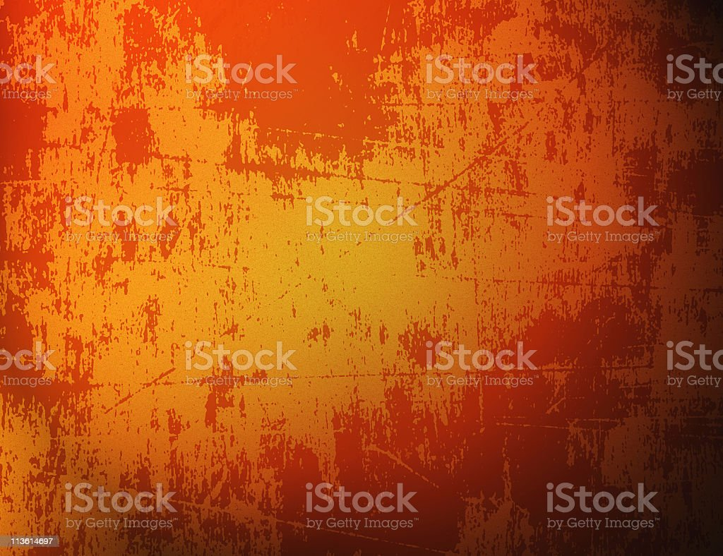 Abstract textured background of various orange hues royalty-free stock photo