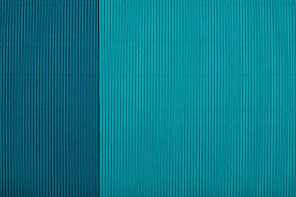 Abstraktes geometrisches Papier Smaragd und blau-grüne Farben Hintergrund. – Foto