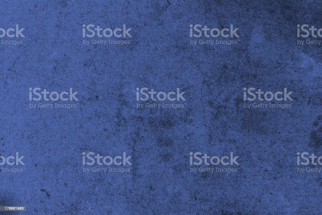 Abstract  textured grunge background in dark blue stock photo
