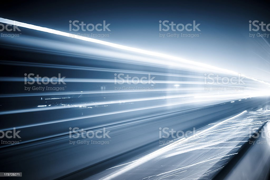 abstract traffic night stock photo