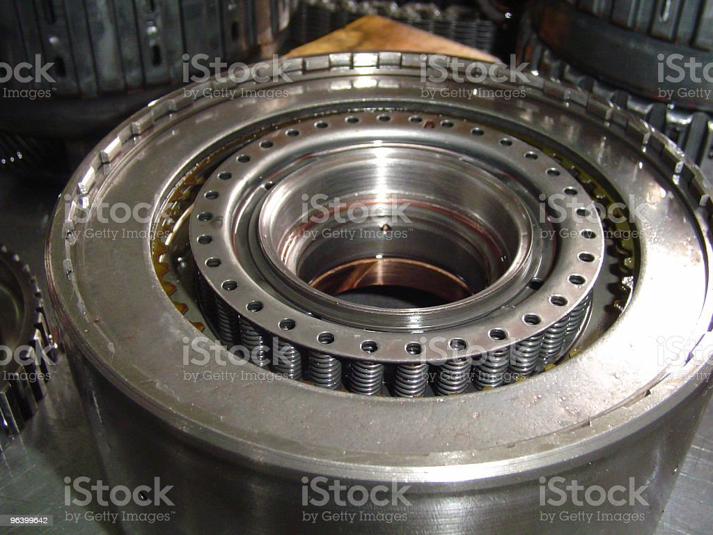 Abstract Transmission Parts - Royalty-free Abstract Stock Photo