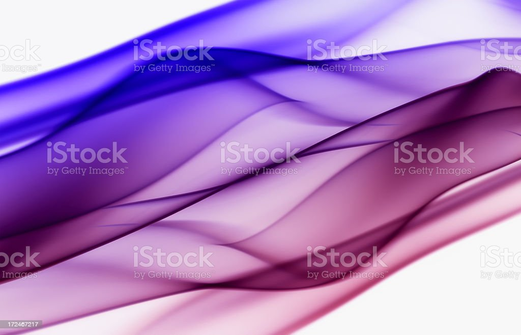Abstract transparent flowing background royalty-free stock photo