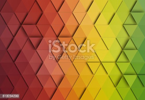 508795172istockphoto Abstract triangle colorful background 513234200
