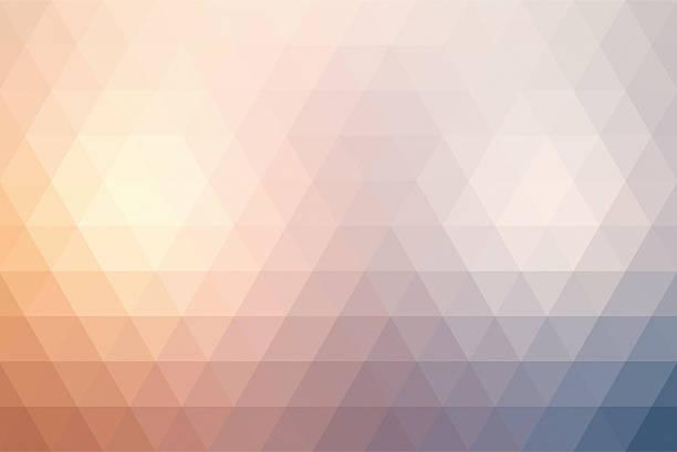 추상적임 트라이앵글 복고풍 색상화 배경기술 스톡 사진