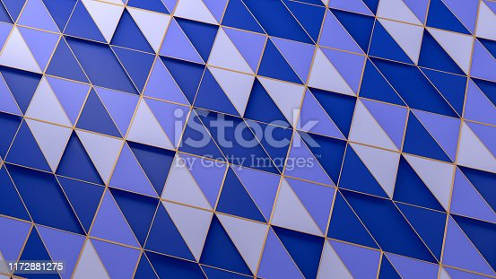 926309126istockphoto 3D Abstract Triangle Surface Background 1172881275