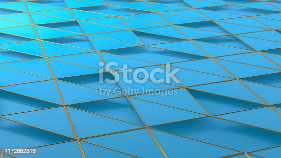 926309126istockphoto 3D Abstract Triangle Surface Background 1172882319