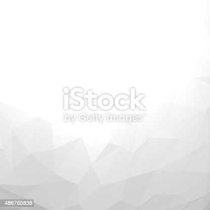 istock Abstract triangles background. 486765838