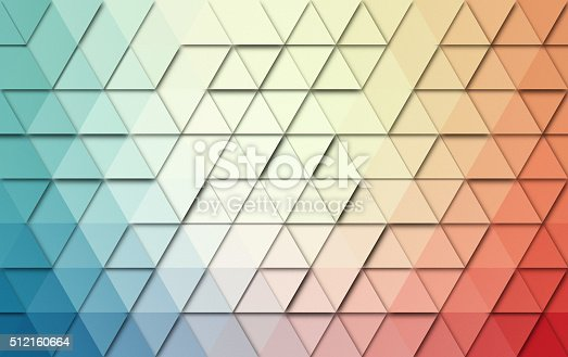 508795172istockphoto Abstract triangles colorful background 512160664