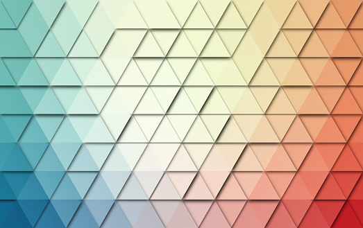 508795172 istock photo Abstract triangles colorful background 512160664