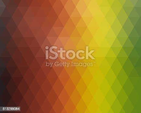 508795172istockphoto Abstract triangles colorful background 513299084