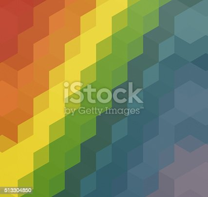508795172istockphoto Abstract triangles retro styled colorful background 513304850