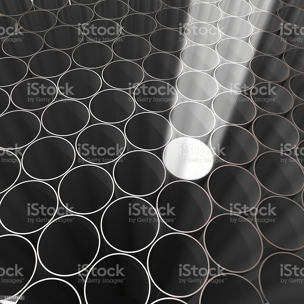 abstract tubes royalty-free stock photo