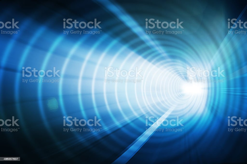 abstract tunnel stock photo