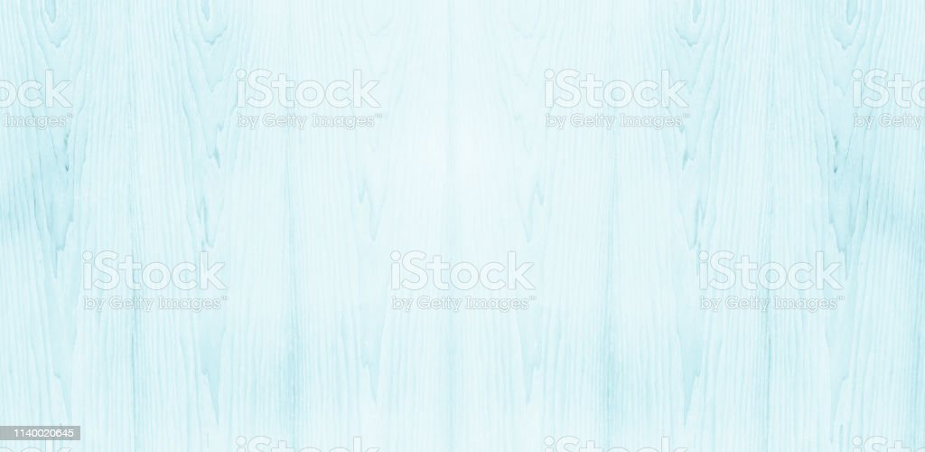 Abstract Turquoise Bright Wood Texture Over Blue Light