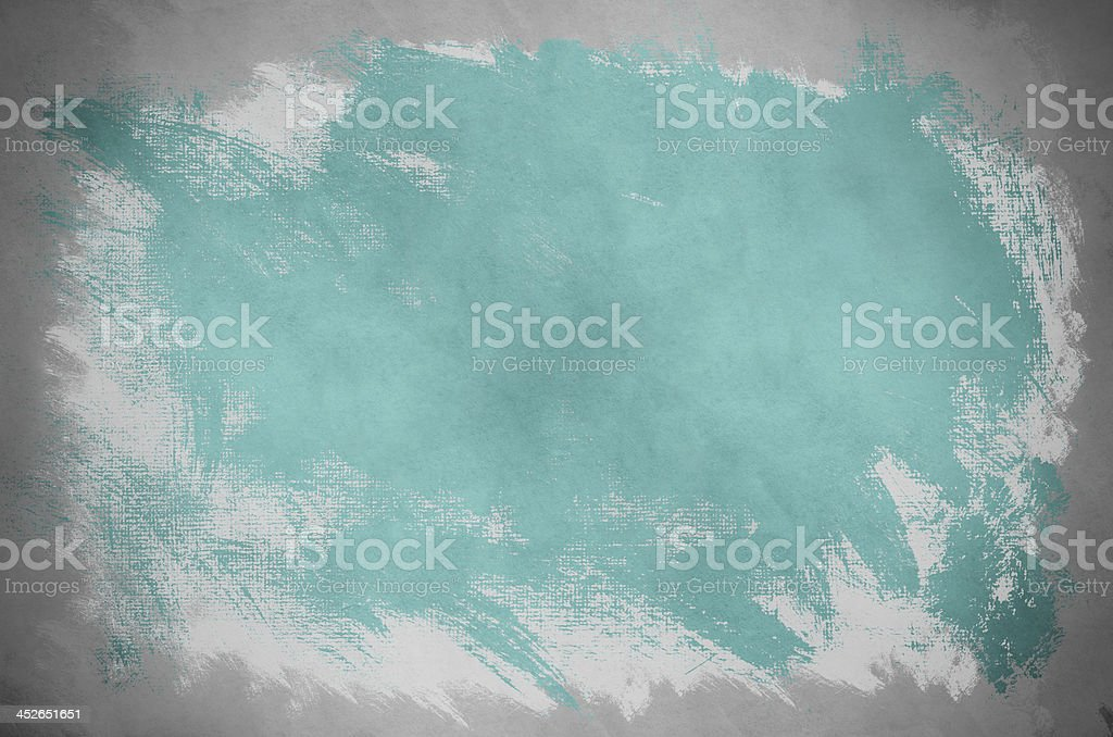 Abstract Turquoise Paint Background royalty-free stock photo