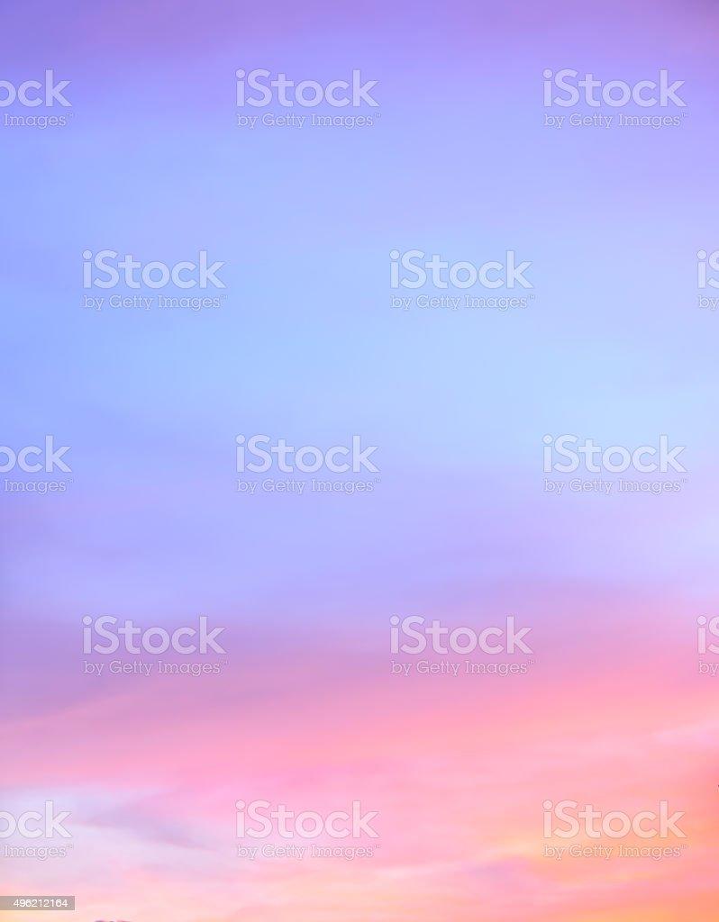 Abstract twilight sky background stock photo