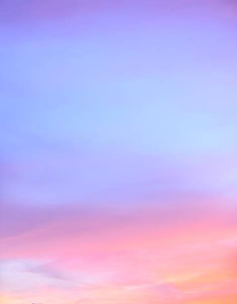 abstract twilight sky background - pink sunrise bildbanksfoton och bilder