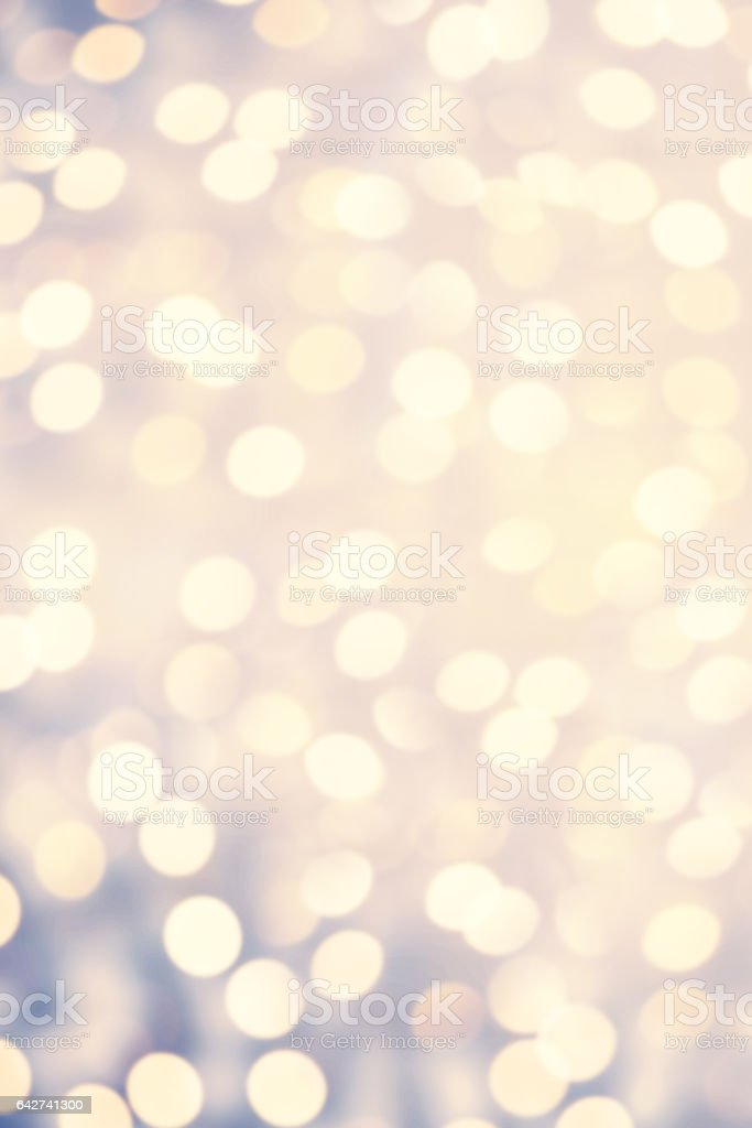 Abstract Twinkled Bright Background With Natural Bokeh