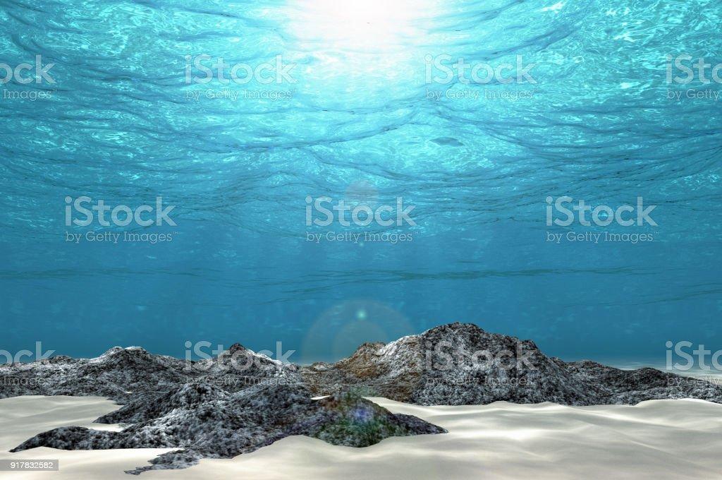 Résumé sous le fond de la mer - Photo