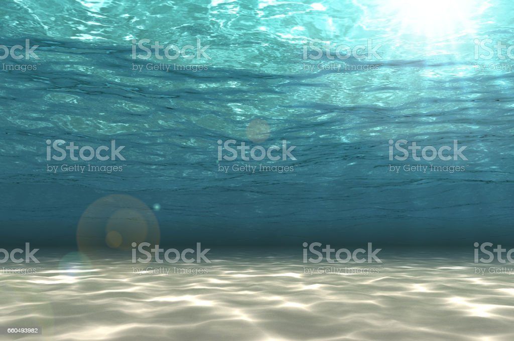 Abstract undersea background. - Photo