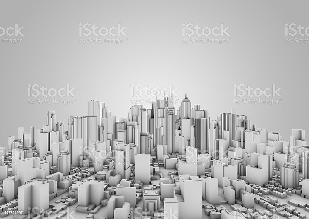 Abstract urban background royalty-free stock photo