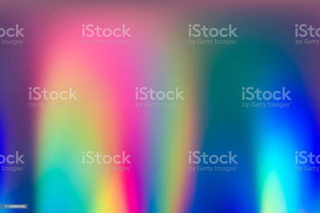 Spectrum abstract vaporwave holographic background, trendy colorful...