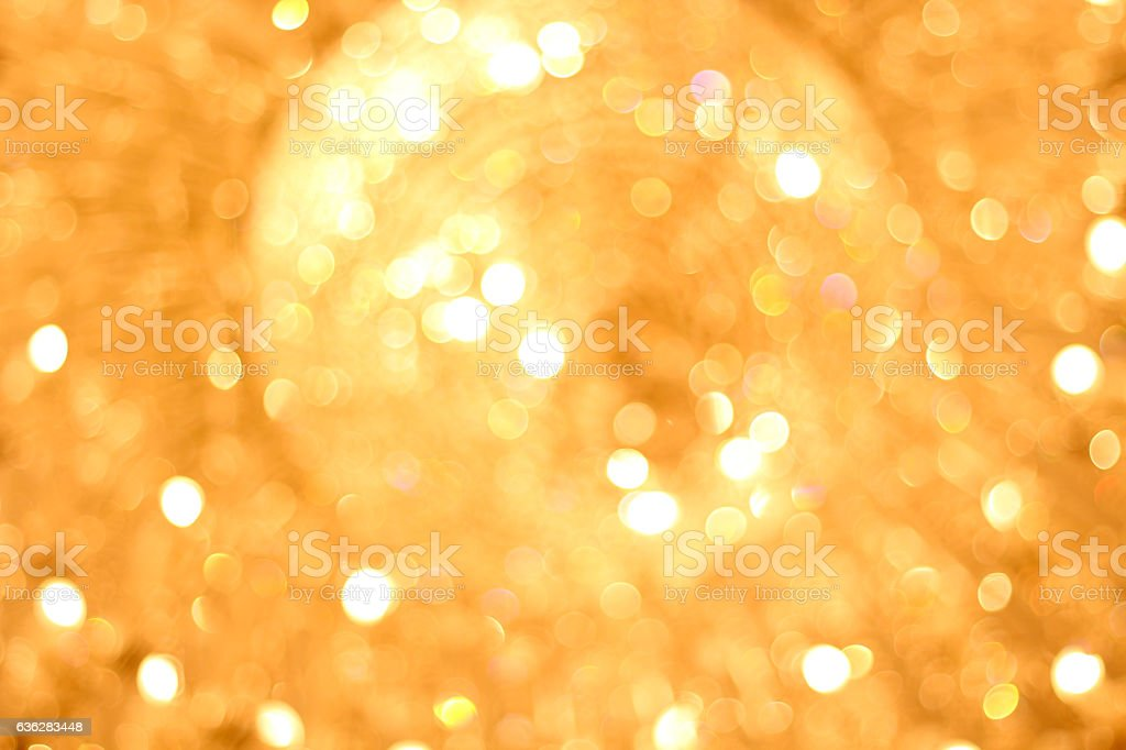 Abstract various colorful blurred bokeh of chandelier as a background stock photo