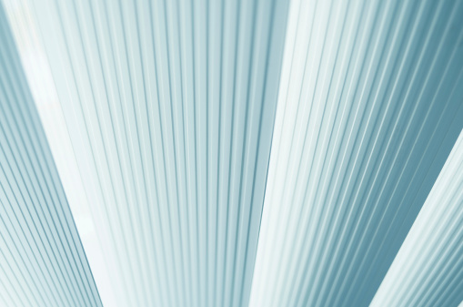 abstract vertical blinds of office high key concept