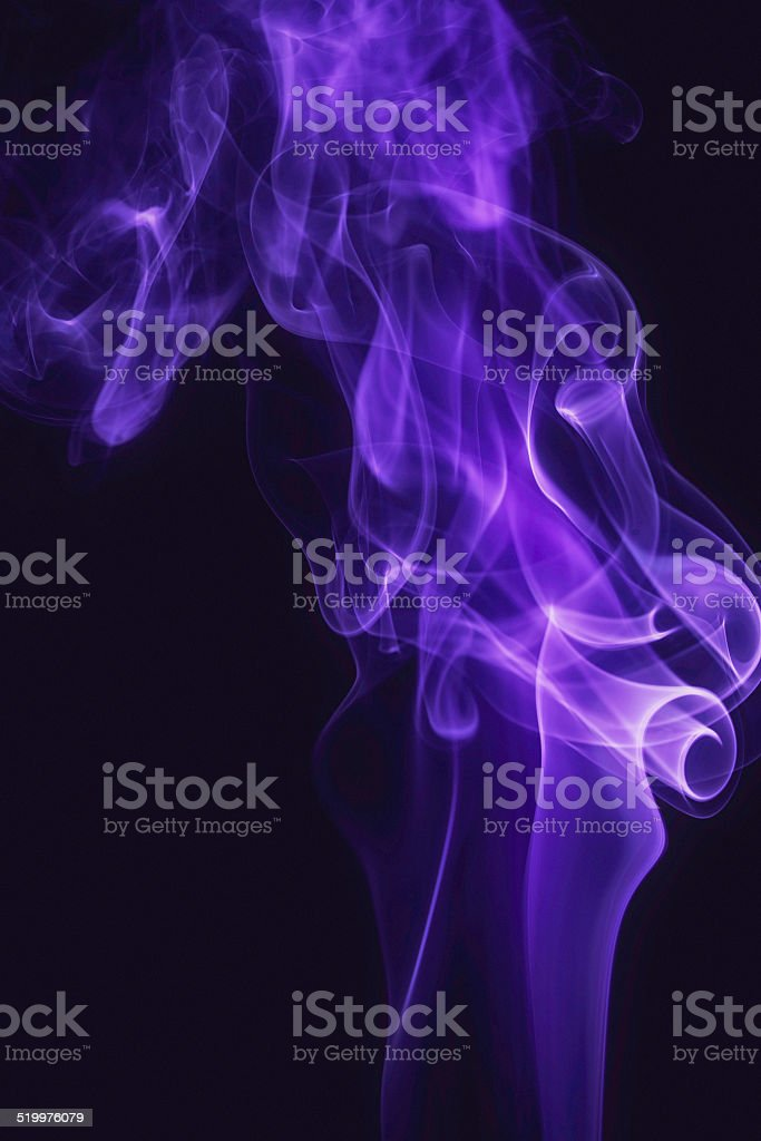 Abstract Vibrant Smoke Background stock photo