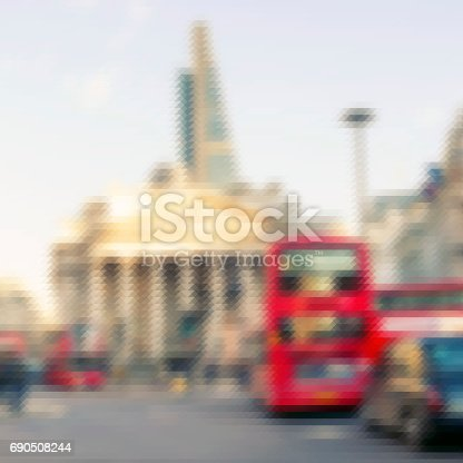 istock Abstract view of the City of London 690508244