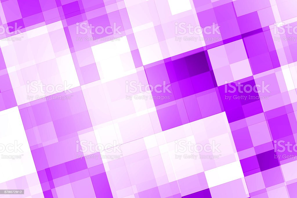 Abstract Violet Square Background stock photo