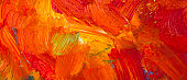 Abstract vivid background with oil paints. Hand painted texture. Close up. Copy space.