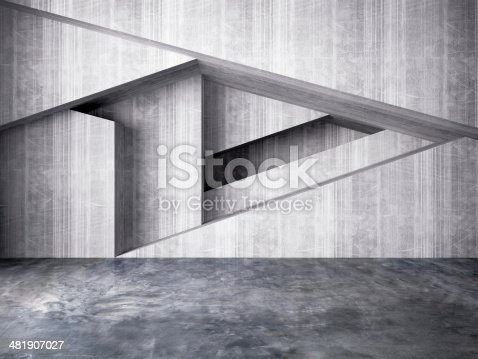 istock abstract wall of interior background 481907027