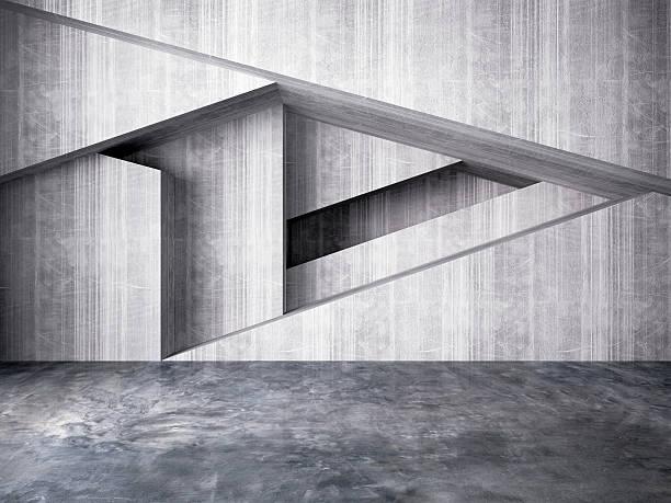 Abstrait de fond intérieur mur - Photo