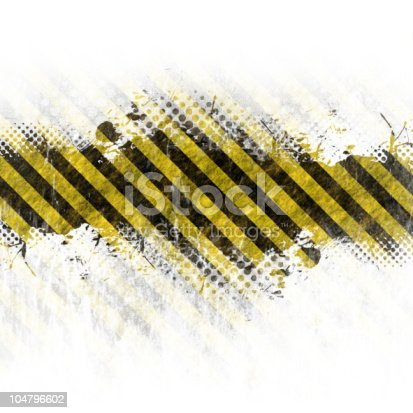 istock Abstract wallpaper made of hazard warning stripes 104796602