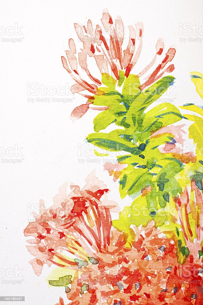 Abstract Water Color royalty-free stock photo