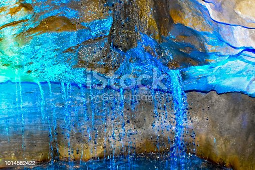 istock Abstract water droplets 1014582422
