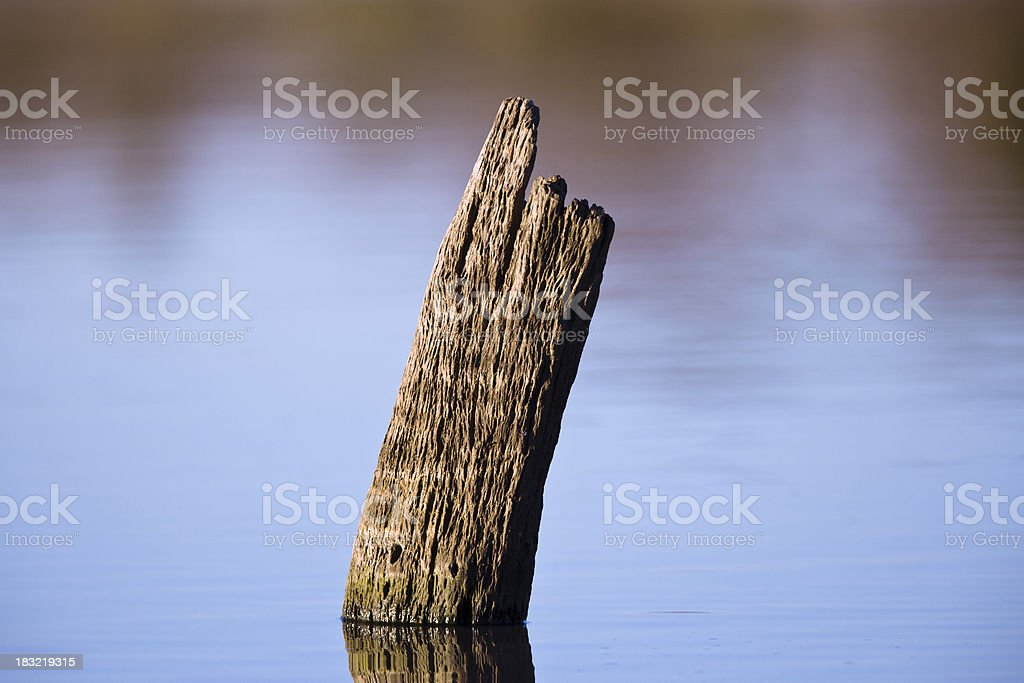 Abstract water feature stock photo