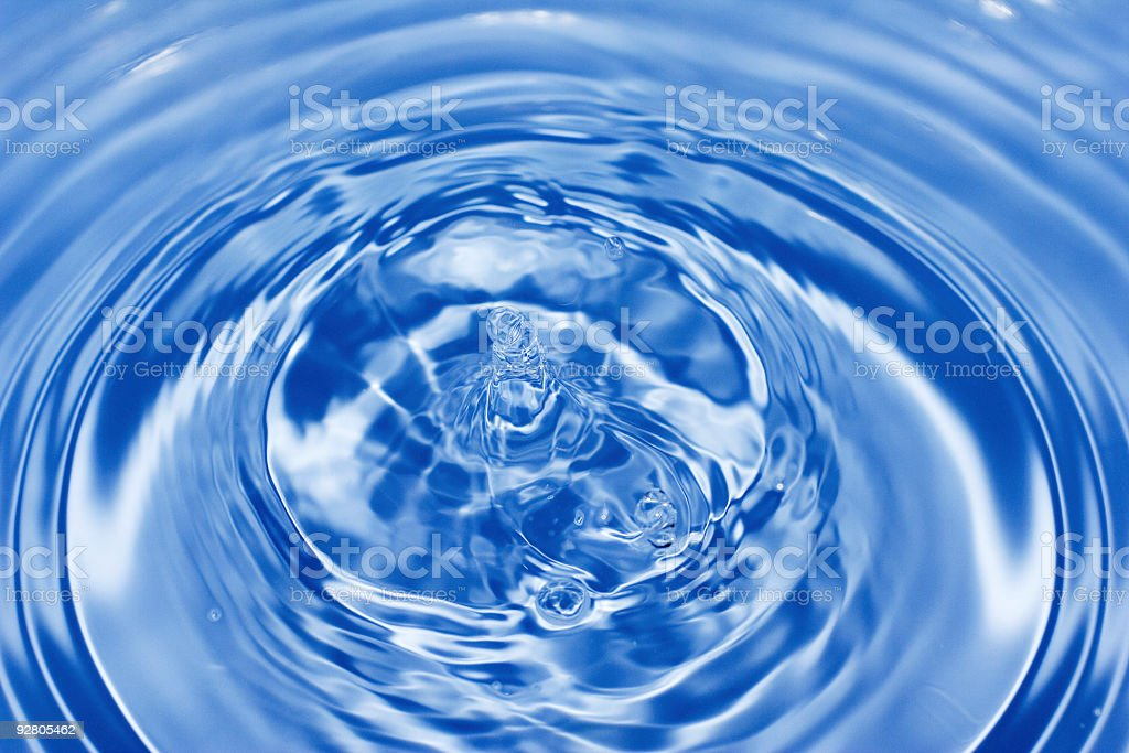 abstract water ripples royalty-free stock photo