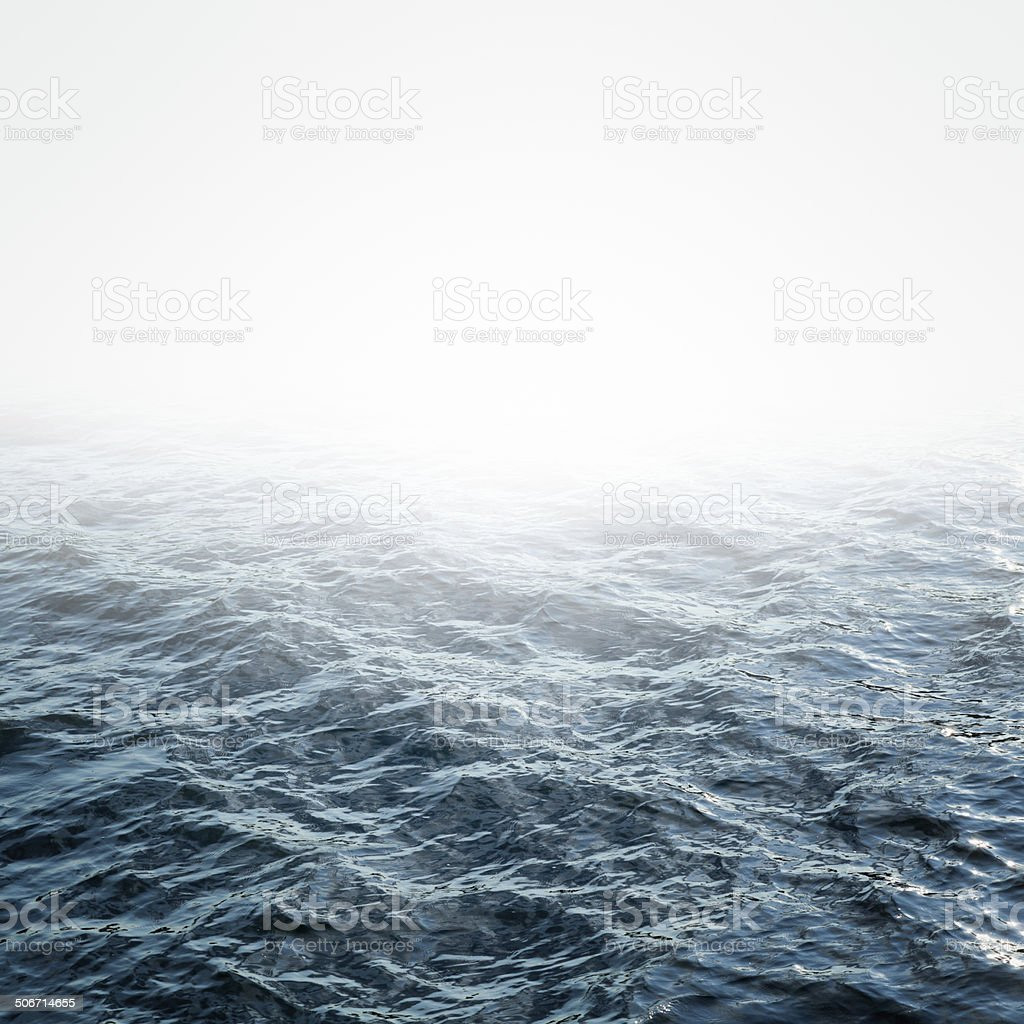 Abstract  water sea for background stock photo