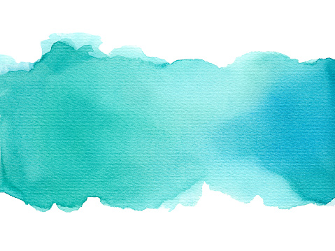 Abstract watercolor art hand paint on white background, Watercolor background.