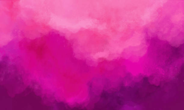abstract watercolor background - hot pink - magenta stock pictures, royalty-free photos & images