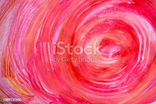 istock Abstract watercolor background on textured paper. Watercolor background for designs. Cover templates for notepad. Fashionable backgrounds for designers 1089132660