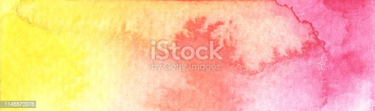 istock Abstract watercolor background. 1145572075