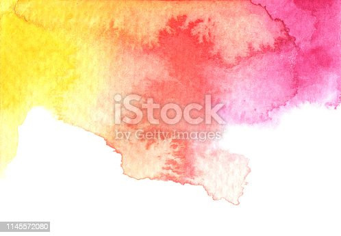 istock Abstract watercolor background. 1145572080