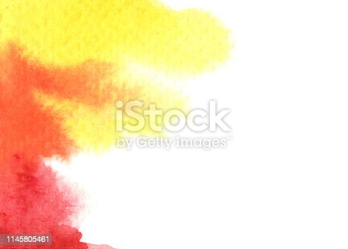 istock Abstract watercolor background. 1145805461