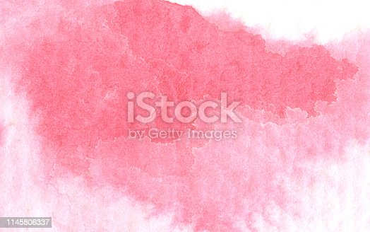 istock Abstract watercolor background. 1145806337