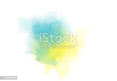 Abstract watercolor digital art painting soft focus for texture background